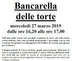 INIZIATIVA DOCUMENTATA CON DVD FINE A.S. Bancarella delle Torte