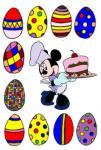 Bancarella delle torte e delle uova