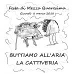 INIZIATIVA DOCUMENTATA CON DVD FINE A.S. Festa di Mezza Quaresima