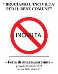 INIZIATIVA DOCUMENTATA CON DVD FINE A.S. Festa di Mezzaquaresima