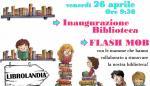 INAUGURAZIONE BIBLIOTECA -Volantino